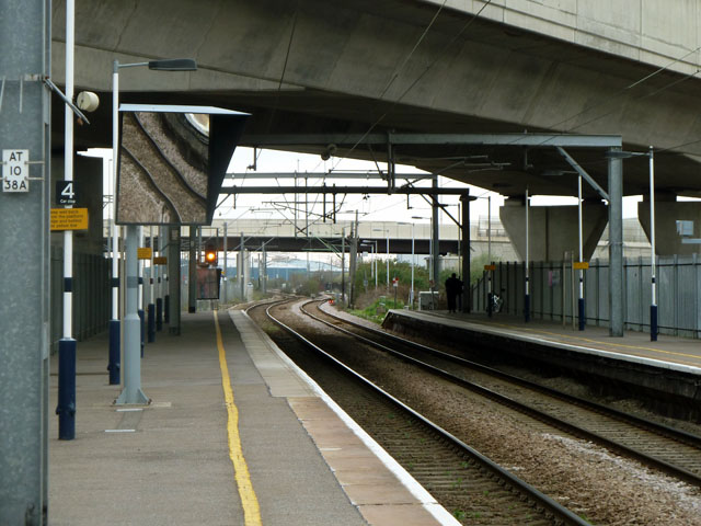 Dagenham Dock up platform