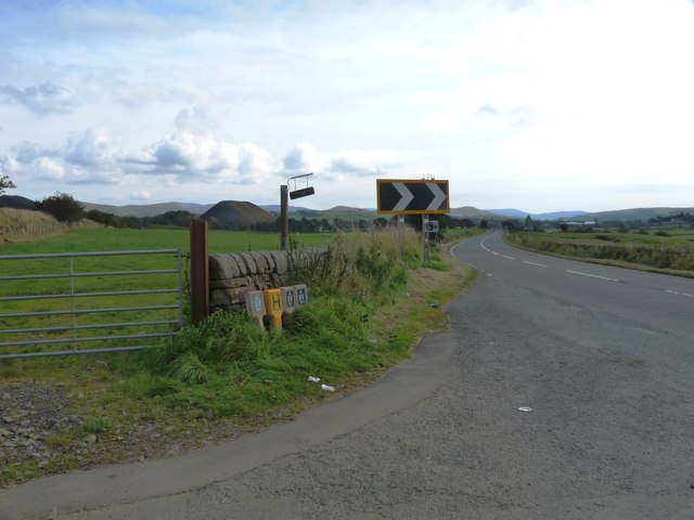 Road to Sanquhar near Tower