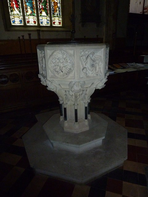 St Mary, Frampton: font