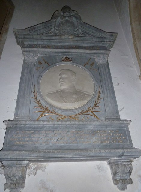 St Mary, Frampton: memorial (3)