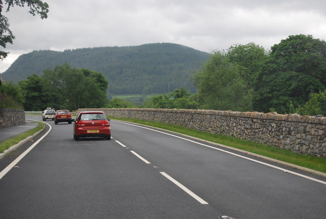 A470 north of Llanrwst