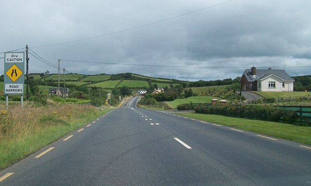 Rural settlement along the R181 south-west of Castleblayney