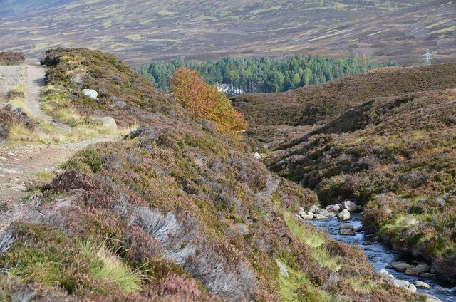 Track by the Allt Coire Fhar