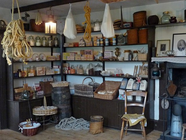 Victorian Shop Interior 1 Morwellham C Robin