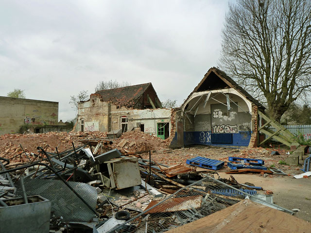 Demolition site, Chadwell Heath