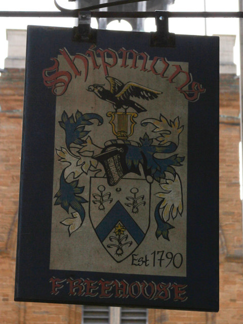 Shipmans Freehouse sign