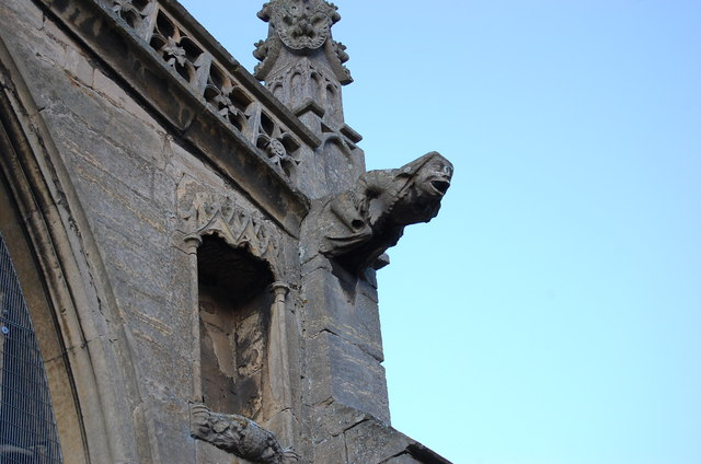 Gargoyle, St Mary's church, Bottesford