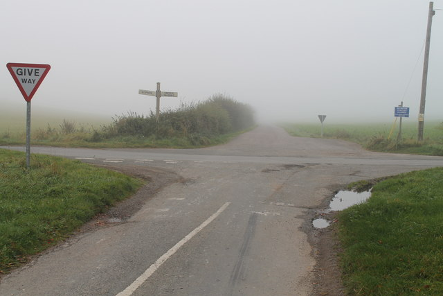 Fog on Scopwick Heath