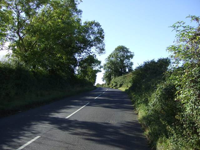 Road heading west towards Great Casterton