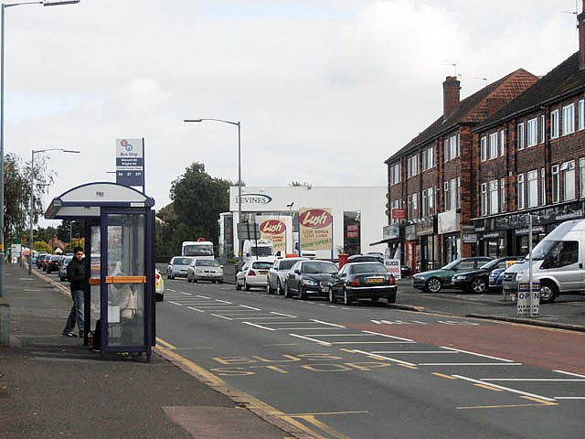 Bus Stop - Warwick Road/Knights Road