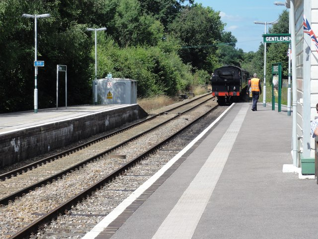 Spa Valley Railway, Eridge Railway Station