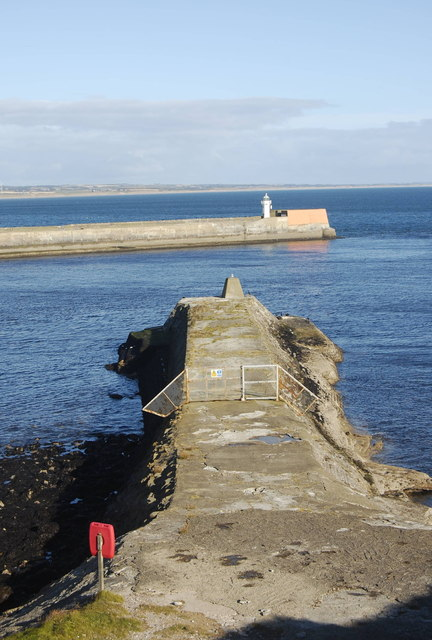 Old South Breakwater, Aberdeen Harbour