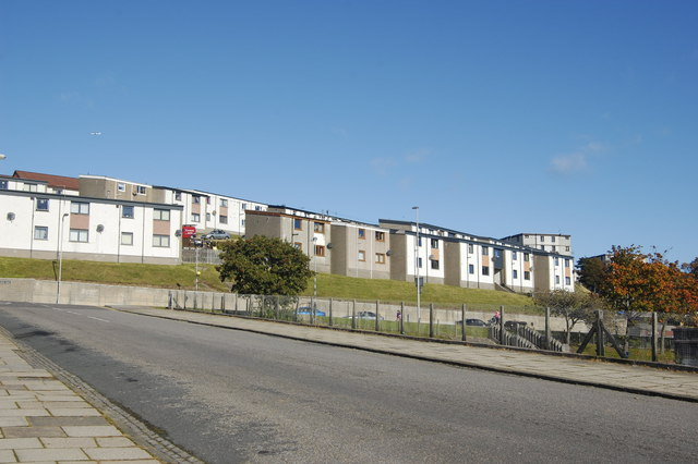 Hillside housing, Girdleness Road, Aberdeen