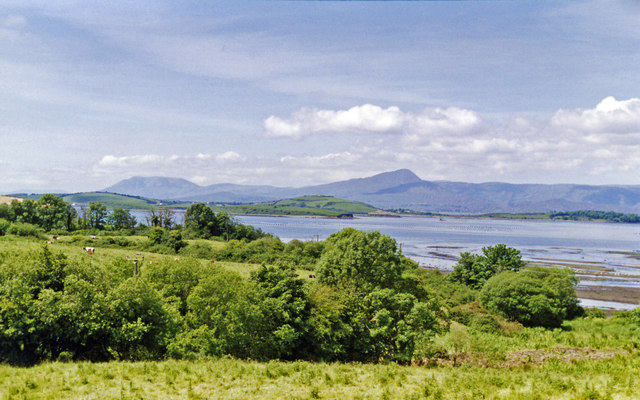 Bantry Bay, Whiddy Island and Caha Mountains, from Bantry