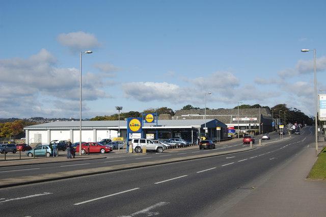 Supermarket sprawl