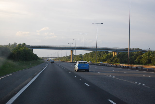 Glatton Way Bridge, A1(M)