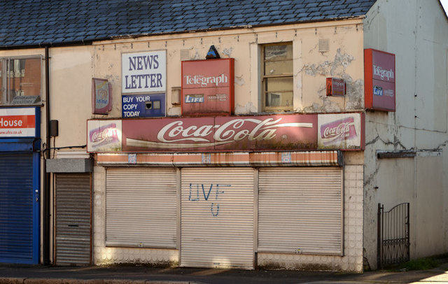 Disused shop, Dunmurry