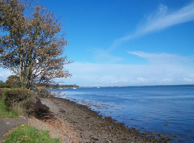 The foreshore at the northern end of Seaside Road, Killyleagh