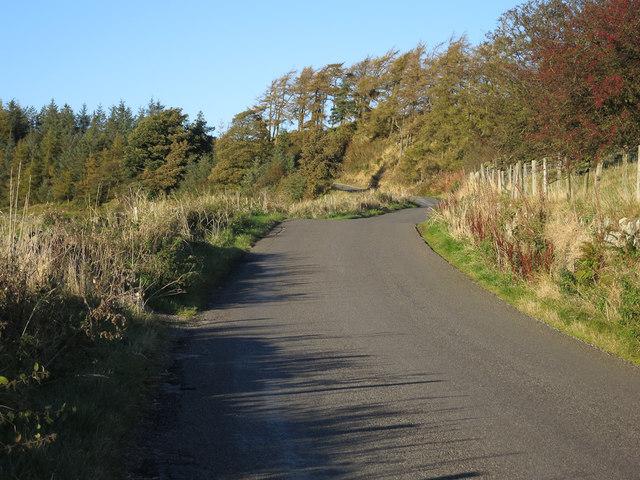 Knott Road - uphill