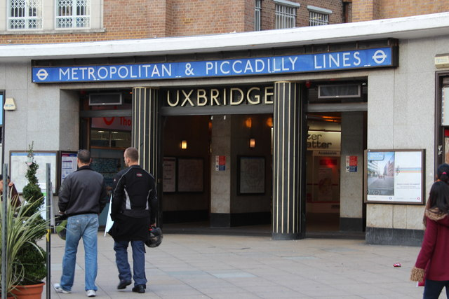 Uxbridge Station entrance