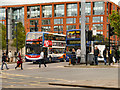 SJ8498 : Parker Street (Piccadilly Gardens) by David Dixon