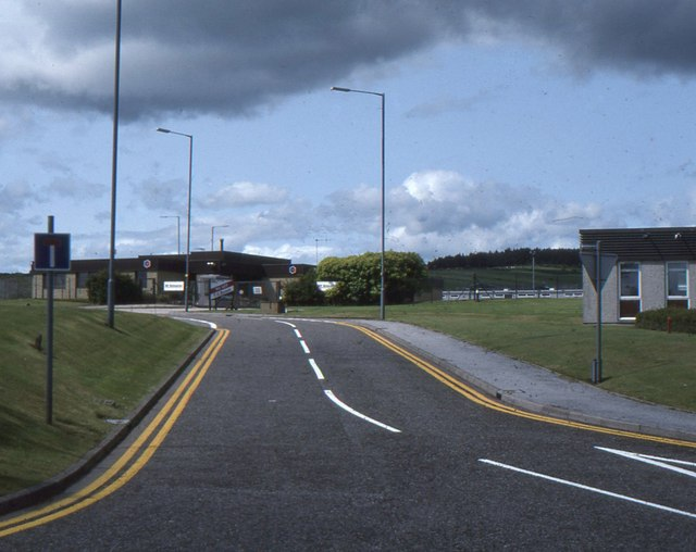 Thistle Road, outside Aberdeen Airport