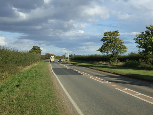 Stamford Road (A1175) heading east