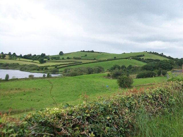 Drumlins to the west of Coskemduff Lough