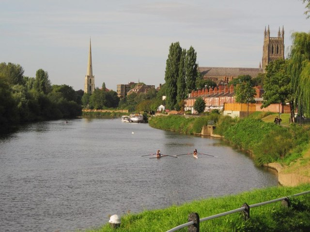 Sculling on the Severn