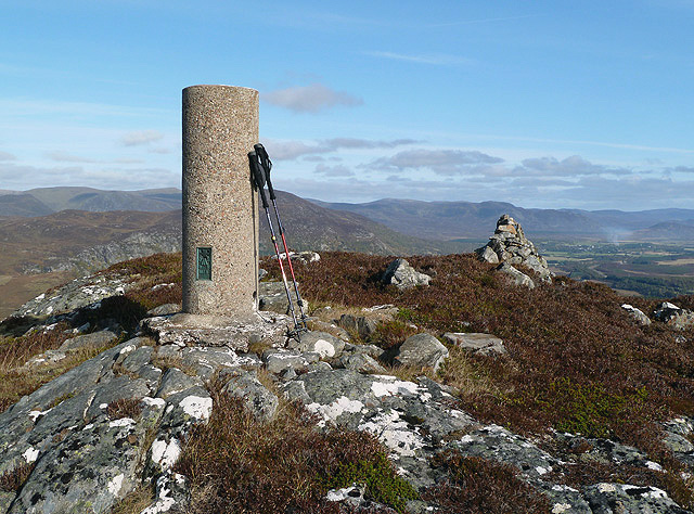 The trig point on Cruban Beag