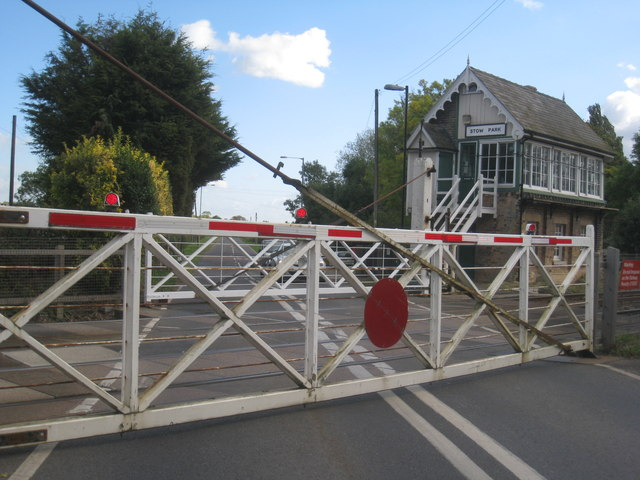 Crossing gates closed
