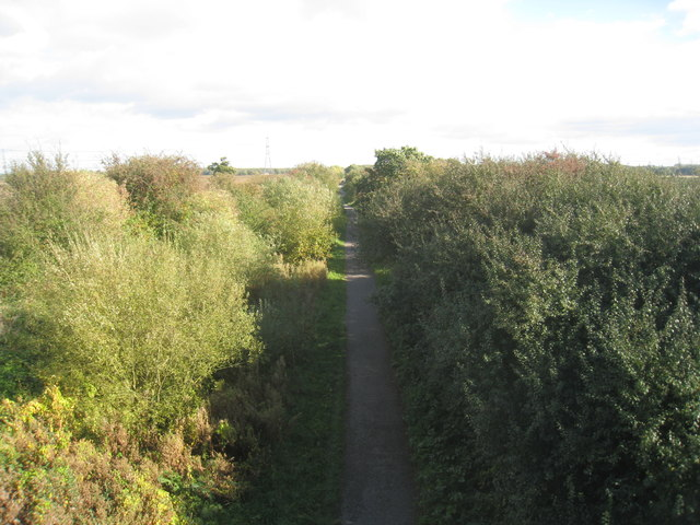 National Cycle Route 64 at Harby