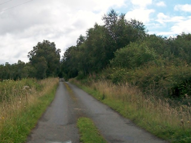 The road east to Cullies Cross Roads