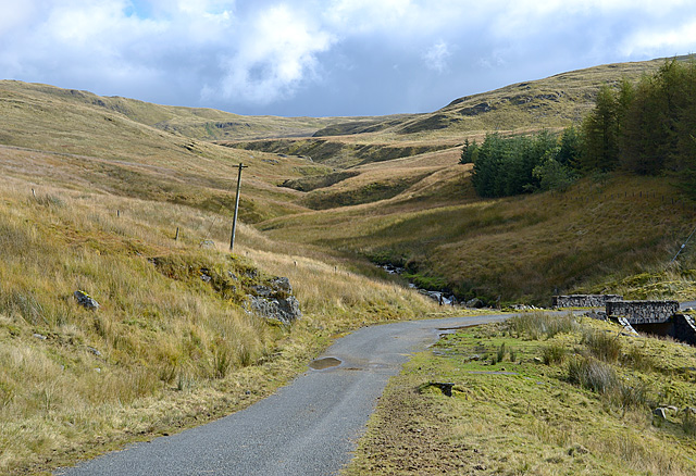 Cwm of the Nant y Moch