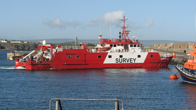 m.v. Meridian, Portrush