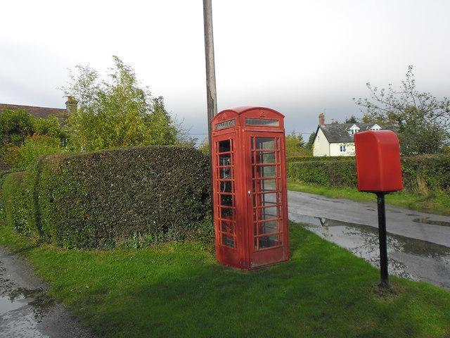 Communications hot spot at Lower Green
