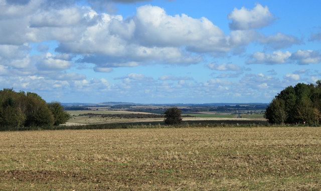 2012 : North east over Salisbury Plain from B390