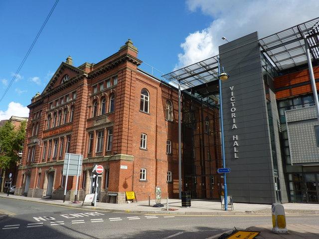 Victoria Hall, Hanley