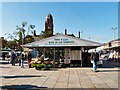 SJ9494 : Fresh view of Hyde Market by Gerald England