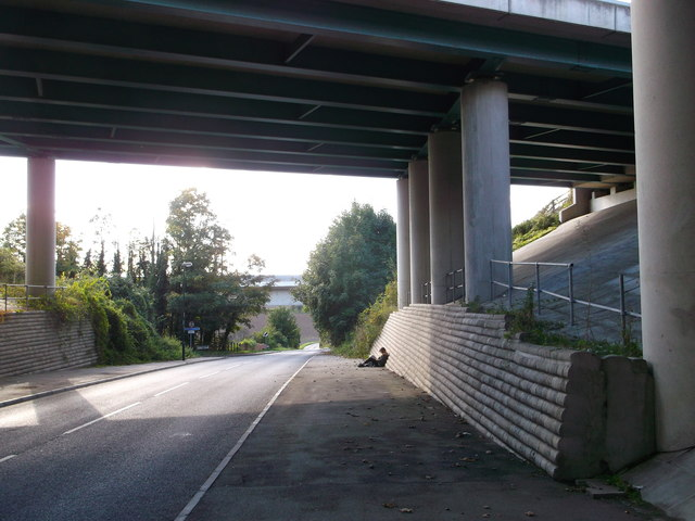 Wouldham Road under the M2
