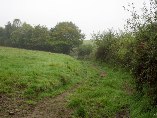 Track near Three Corners Farm