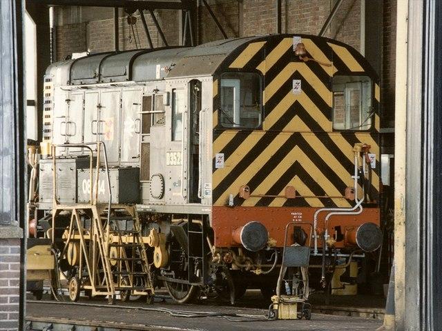 Railway Depot, Colchester