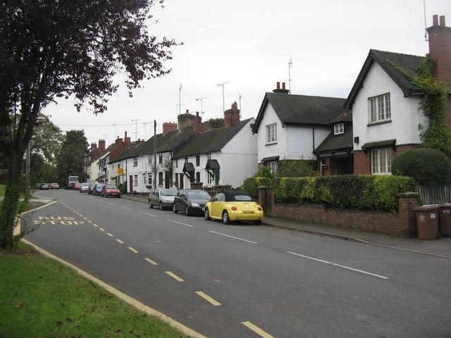 Main Street, Newton Solney