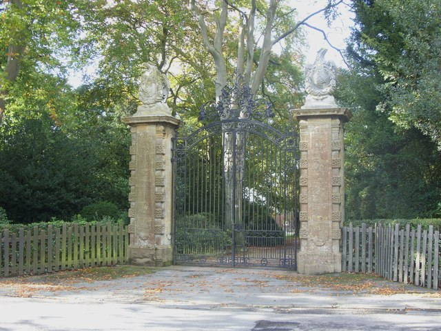 Gates to Ramsdell Hall