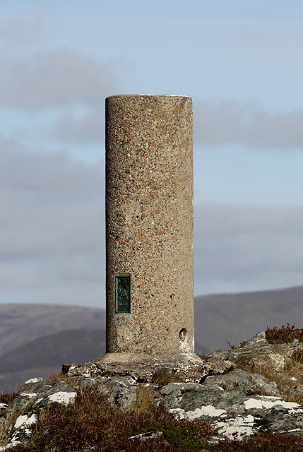 Cruban Beag trig point