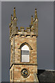 NH7357 : Rosemarkie Parish Church clock tower and belfry by Walter Baxter