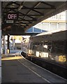 TQ2775 : Train at Clapham Junction by Derek Harper