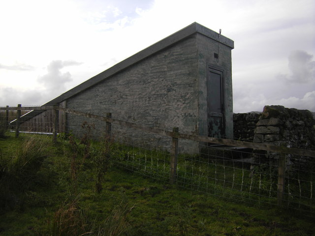 Small building on slopes of Watch Craig
