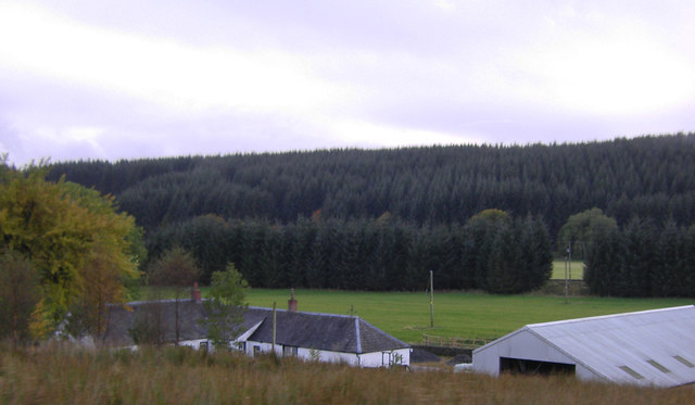 Fingland Farm from the road