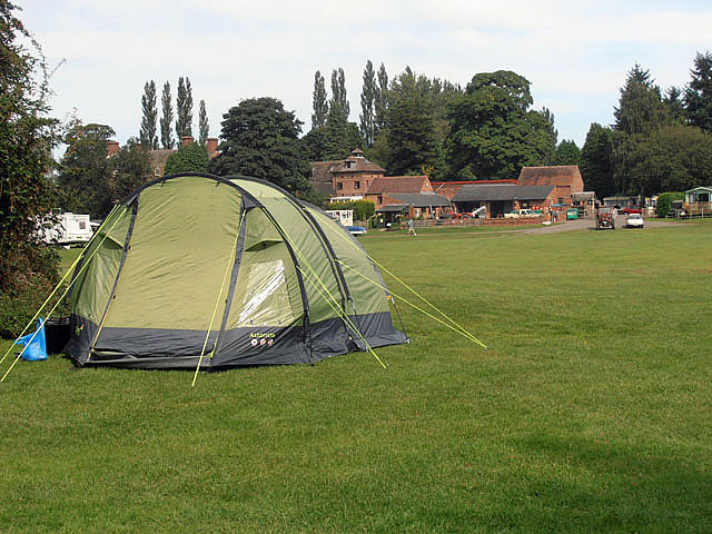 Camp site at Lickhill